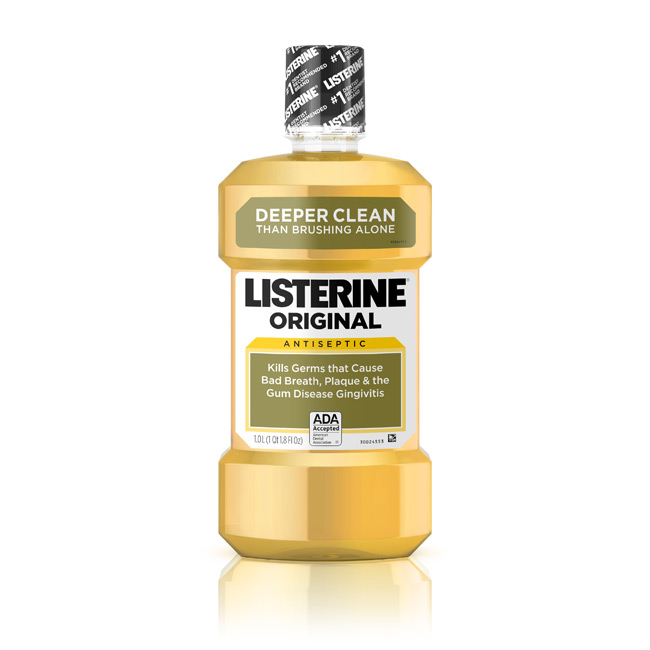 Listerine Original to Prevent Dandruff